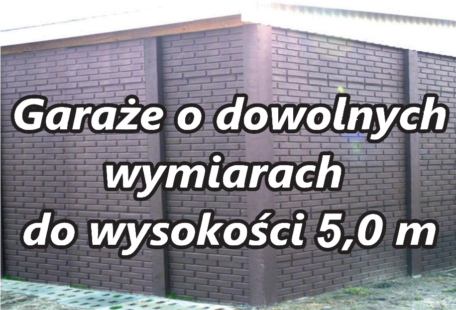 Garaże Z Płyt Betonowych Pphu Alfa Jarosław Kurowski